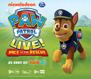PAW PATROL LIVE - Race To The Rescue
