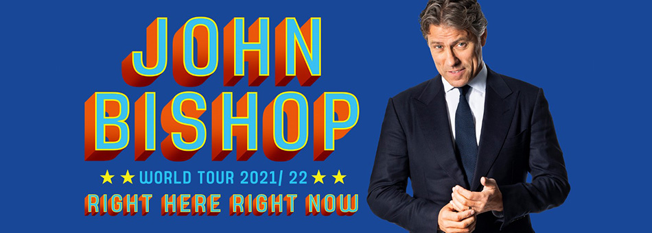 John Bishop - 'Right Here, Right Now'
