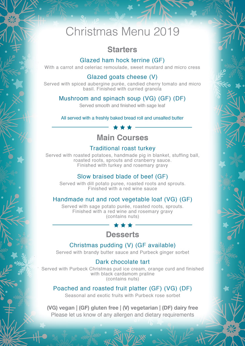 Christmas Desserts 2019.Christmas Parties Bh Live