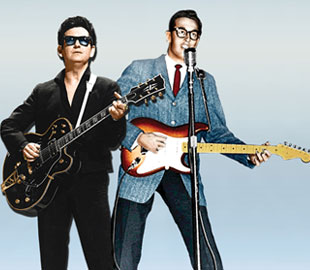 Roy Orbison & Buddy Holly and full Band - The UK Holographic Tour