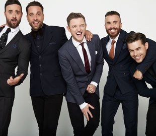 The Overtones Summer Special - CANCELLED