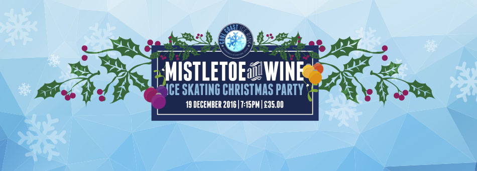 Mistletoe and Wine Christmas Party